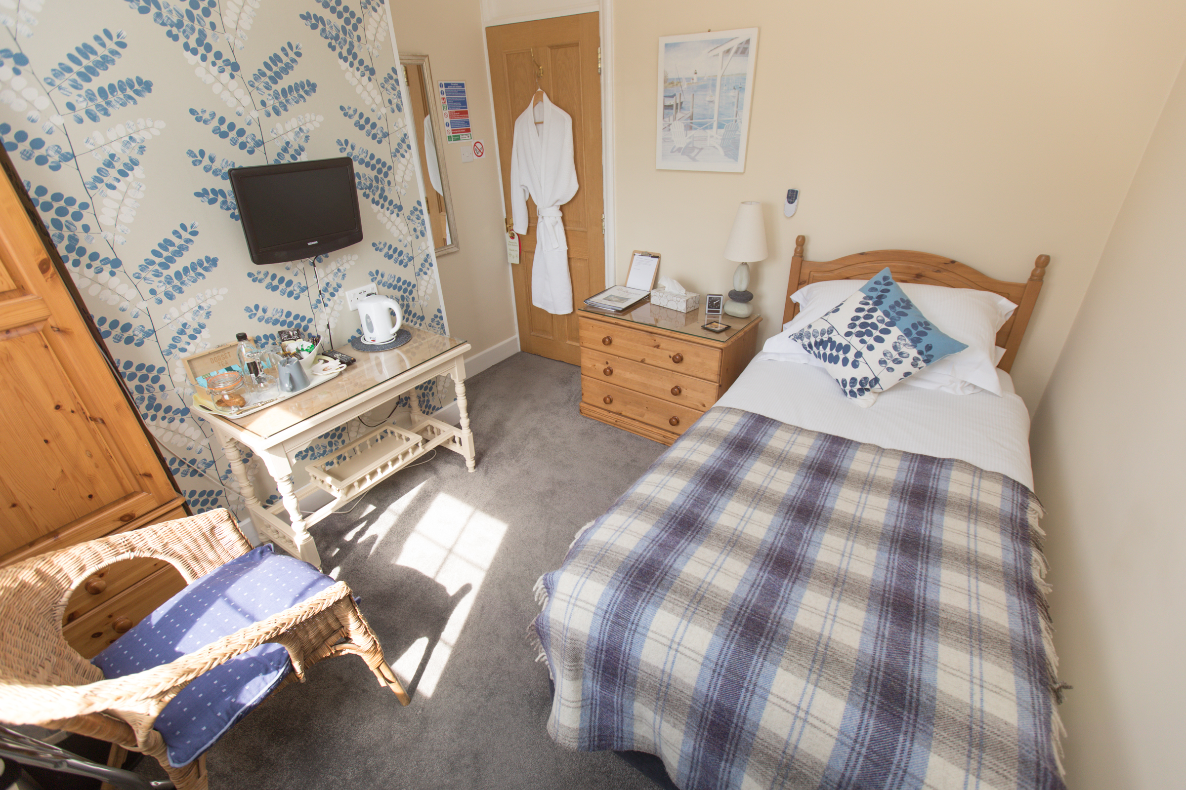 Single Bedroom Guest Lodge Hythe, Southampton - Room 2