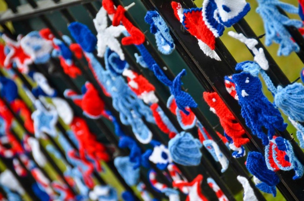 Hythe 2016 RNLI Yarn Bomb - Penny Harrington